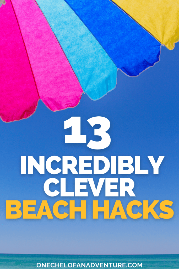 list of best beach hacks for summer 2021