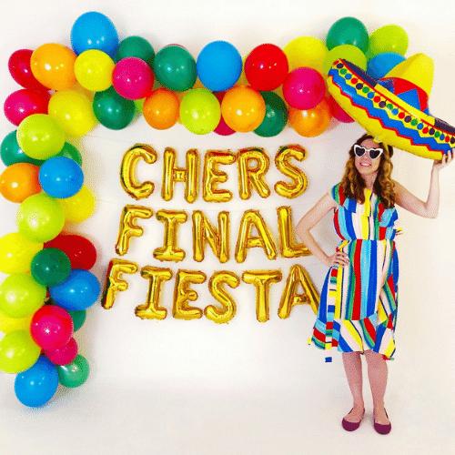 Final Fiesta Bachelorette Party Balloons