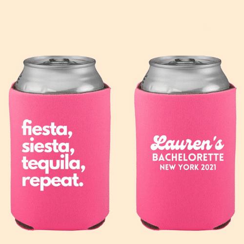 koozies for final Fiesta Bachelorette Party