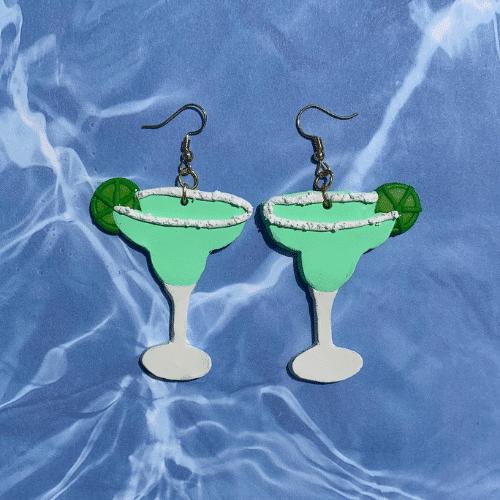 margarita earrings - Fiesta Bachelorette Party