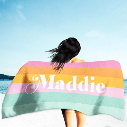 Beach Bachelorette Party party beach towel