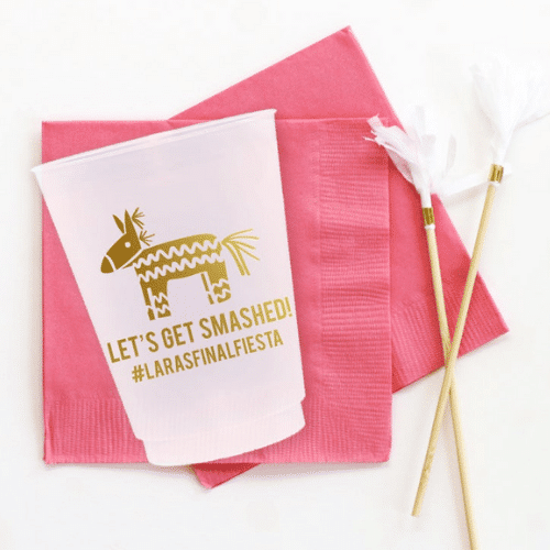 get smashed napkins - Fiesta Bachelorette Party