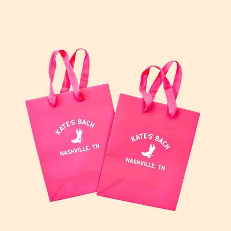 Custom tote bag for western bachelorette party