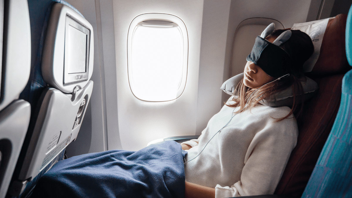 Tips for How to Sleep Better on a Plane