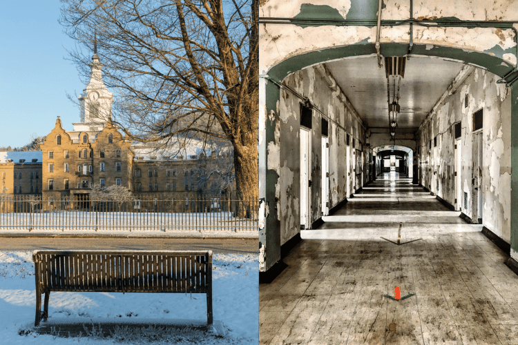 Spookiest Places to Visit in the USA - Trans-Allegheny Lunatic Asylum