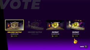 Drive Buy Game Voting