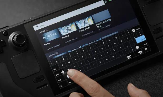Steam Deck TouchScreen