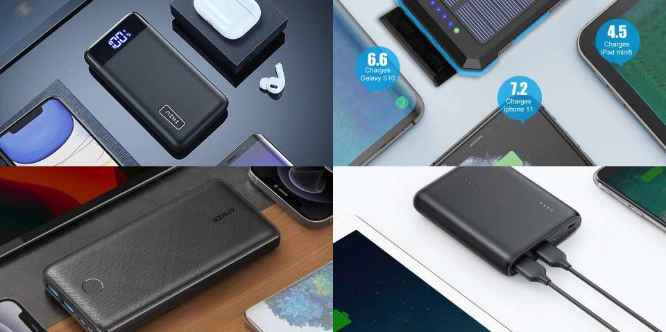 Best Cell Phone Portable Chargers