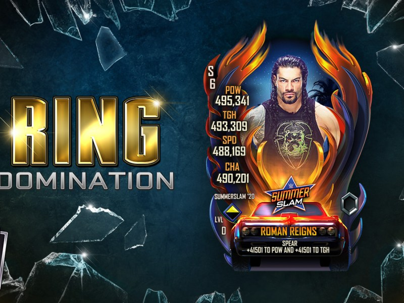 WWE SuperCard Ring Domination