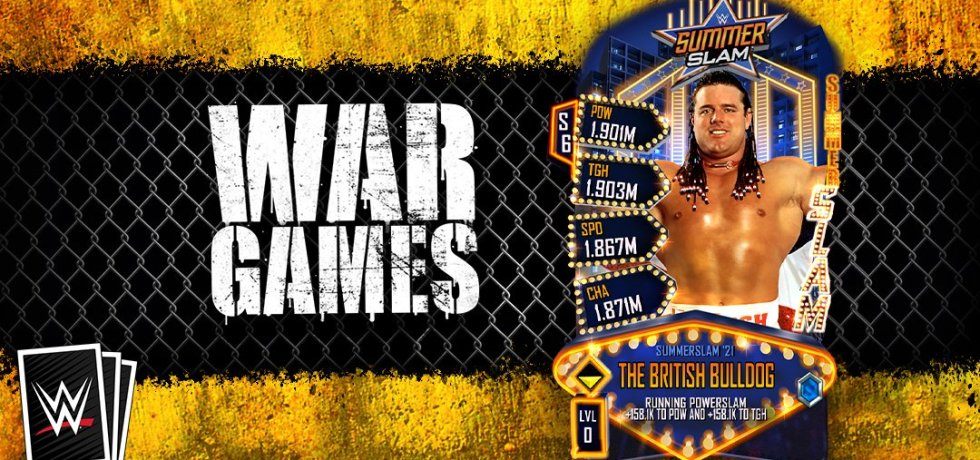 WWE SuperCard War Games