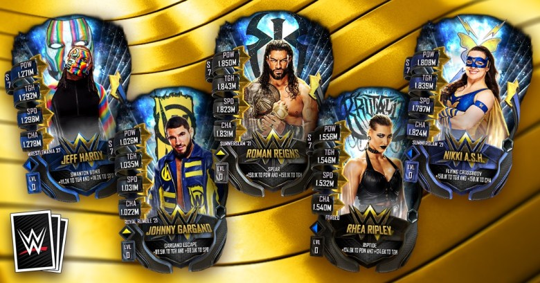WWE SuperCard Fusion Chamber Guide