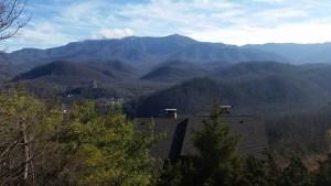 Christmas 2014 Smokey Mountains, Gatlinburg, The Highlands Condominiums, Room 101 View