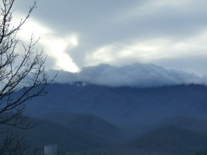 Christmas 2014 Smokey Mountains Gatlinburg, Highlands Condominiums, Room 101 View