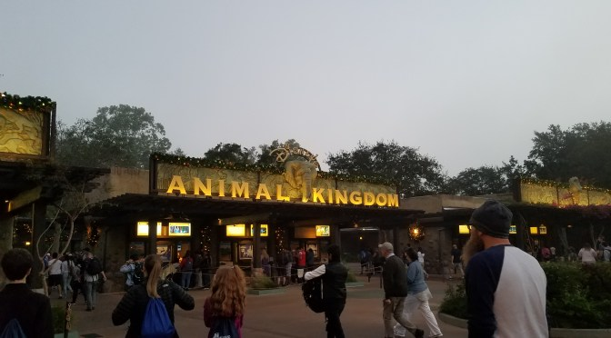 Disney World Vacation 2017: Day 1 Animal Kingdom