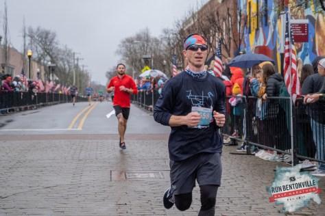 Bentonville Half Finish 2019 Johnathan