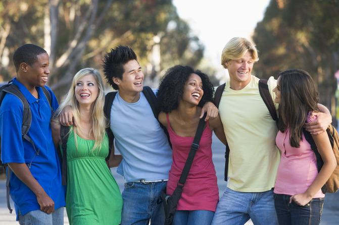 students-having-fun