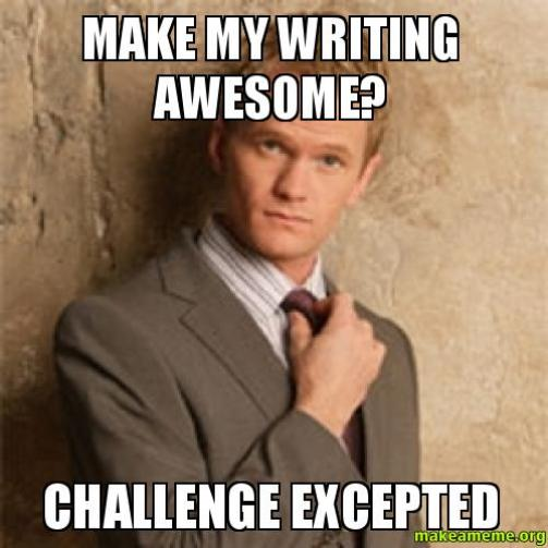 Make-my-writing-awesome