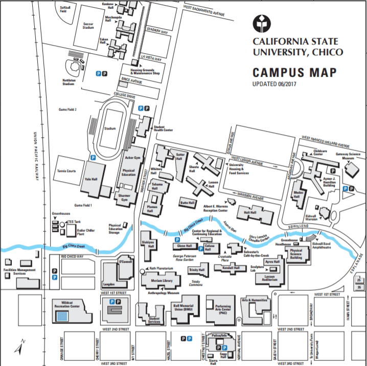 Western Michigan University Campus Map. Enrollment And Facilities ...