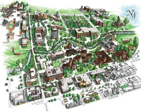 Map Csula » Free Images | Full Wallpapers