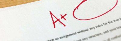 A+ Graded Paper