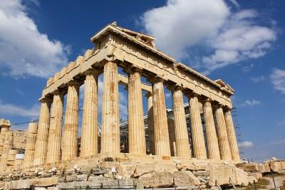 a Greek tourist site