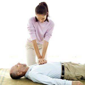 Person Performing CPR