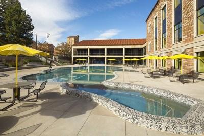 CU Rec Center and pool.