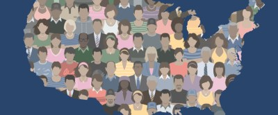 The U.S. has a very diverse population with people from different religons, races, social classes, etc.