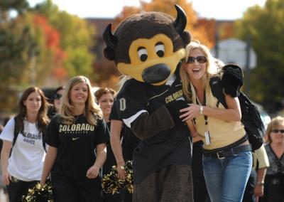 CU Boulder students.