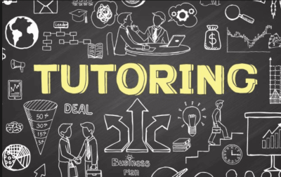 Picture of a tutoring sign