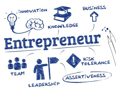 Entrepreneurship involves starting up your own business and being a leader.