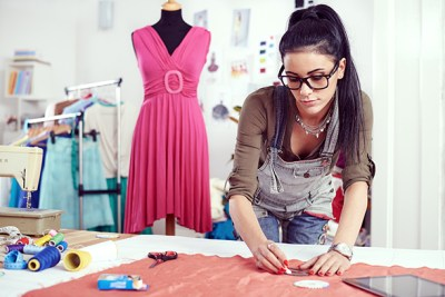 a fashion designer