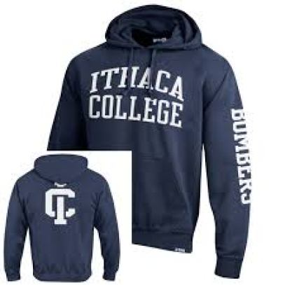 A school branded hood