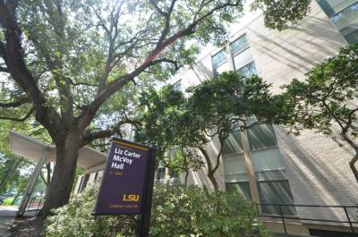 McVoy Hall is a popular residence hall on LSU campus.