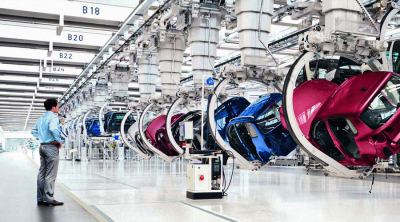 An automated car production company