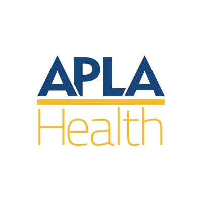 The official logo of the APLA Health Group
