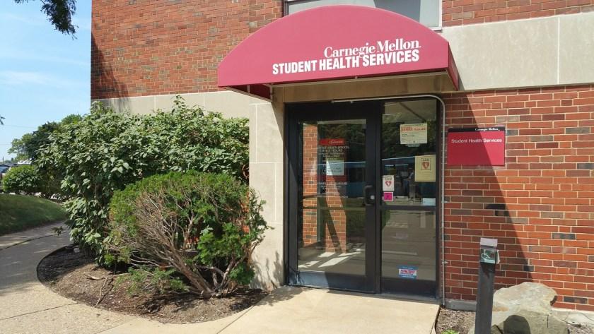 CMU University Health Services entrance