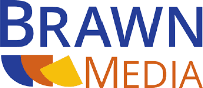 This is the logo for BrawnMedia Marketing.