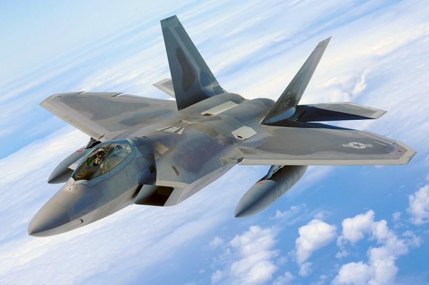 A combat plane