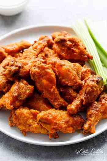 Crispy Buffalo Chicken Wings