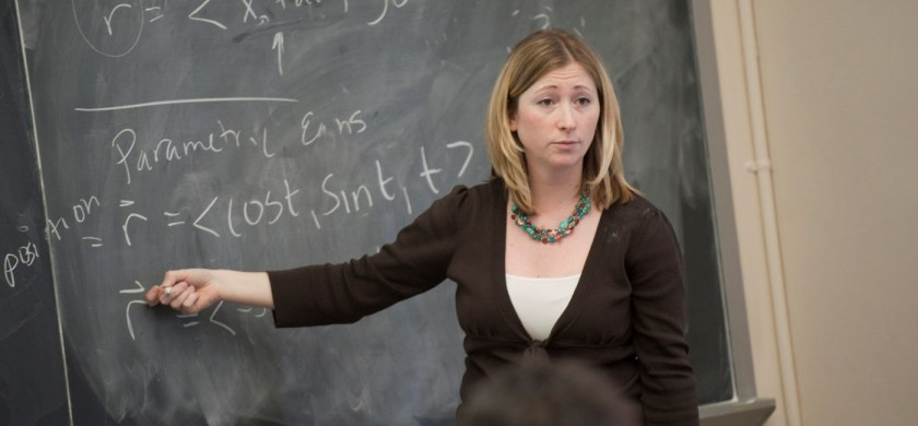 A scholar working as an assistant professor of Mathematics