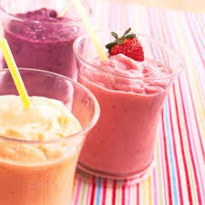 3 glass of smoothies
