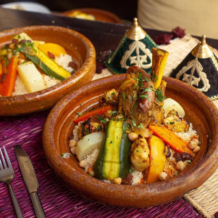 Get in the Moroccan spirit with Kasbah
