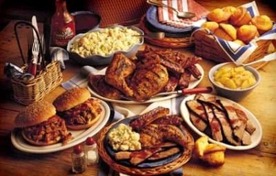American Cuisine platters