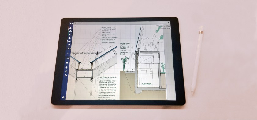 A digital document opened in a tablet