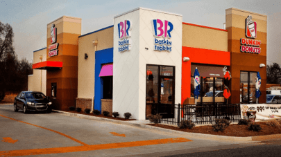 The building of Dunkin' Donuts-Baskin Robbins