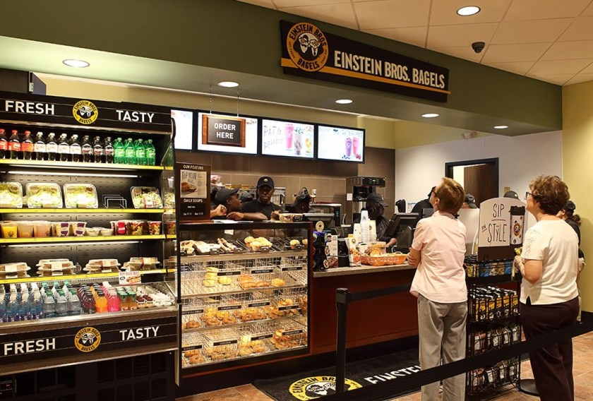 Einsteins Bros. and Bagels offers Sumptuous Meals