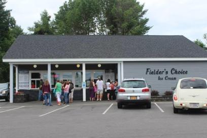 The buildingof Fielder's Choice Ice Cream