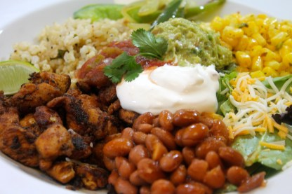 A picture of  Grilled Chicken Burrito Bowl