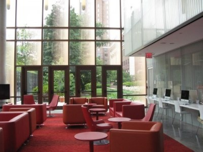 Liz's Place is located at the Diana Student Center